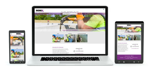 Bemix webbplats