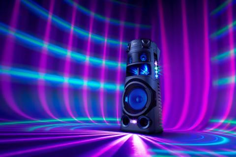 Sony introduceert nieuwe serie High Power Audio-partyspeaker