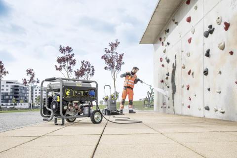 Kraftfulla generatorer för yrkesanvändare