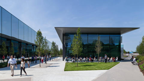 Dyson Headquarter Malmesbury D9 and Lightning Cafe