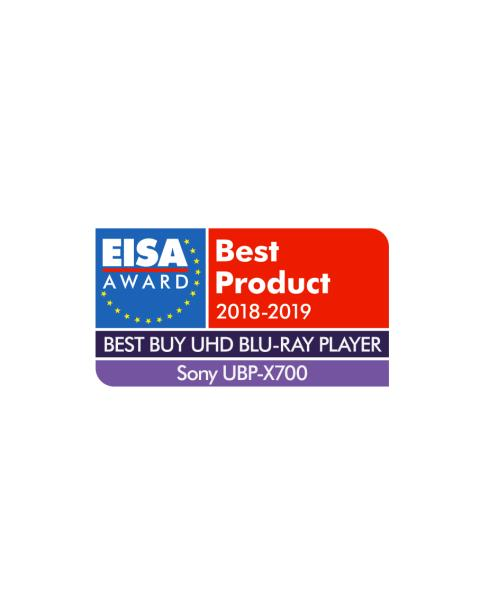 EISA Award  2018-2019_Best Buy UHD Blu-Ray Player_Sony UBP-X700