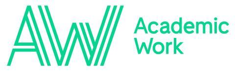 Logotyp Academic Work (RGB)