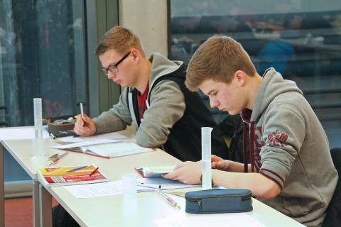 12. regionale Schüler-Physik-Olympiade am 25. Februar 2016 an der Technischen Hochschule Wildau