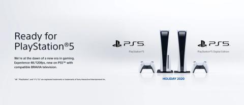'Ready for PlayStation 5' – de nieuwe BRAVIA tv's van Sony