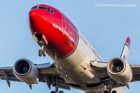 Norwegian Aircraft. Foto: David Charles Peacock