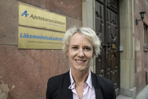 Karin Meyer, VD på Apotekarsocieteten