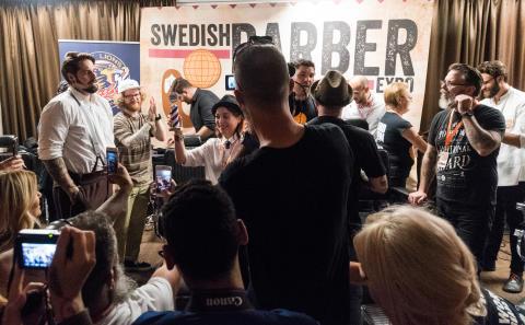 Årets barberare och Sveriges snyggaste skägg utses på World Beard Day!