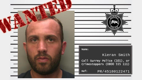 Can you help us locate wanted man Kieran Smith?