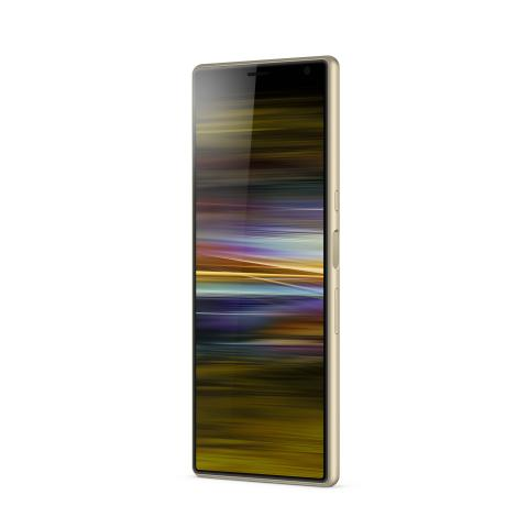 Xperia 10 Plus_front40_gold