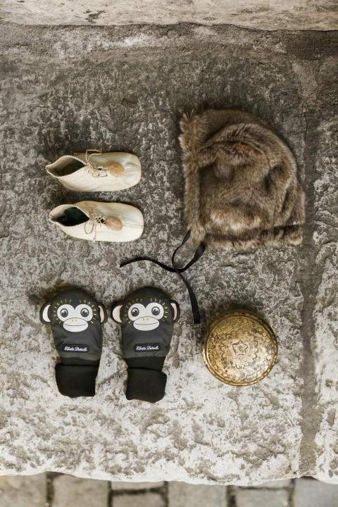 AW18 - Lifestyle Cap and mittens