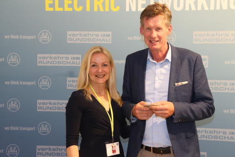 Erste Electric Networking Night bei BPW zur transport logistic