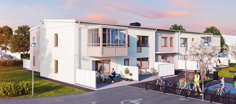 Ettor med uteplats när ABK bygger nytt på Näsby