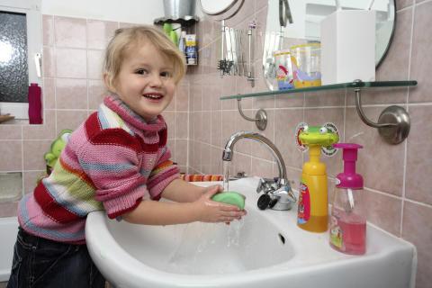 Händewaschen bietet häufig Schutz