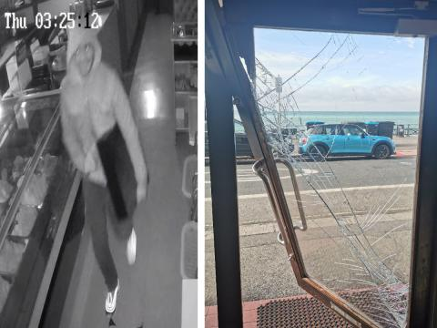 Police investigating burglary at Hove restaurant