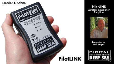 PilotLINK Class A AIS Wireless Interface for maritime pilots