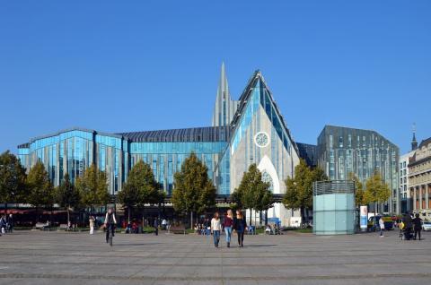 Universität Leipzig am Augustusplatz