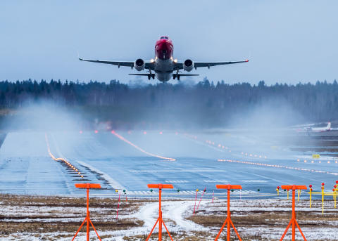 Norwegian med en passagerartillväxt på 20 procent i januari