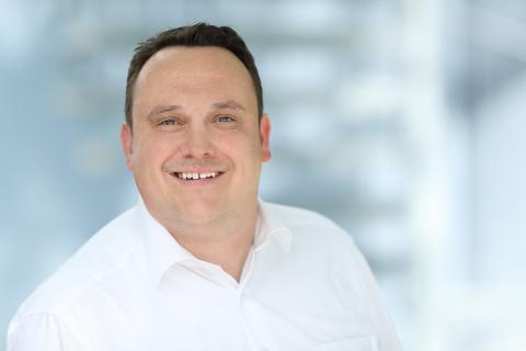 Tobias Kemmler, Geschäftsführer der KlimaschutzAgentur im Landkreis Reutlingen