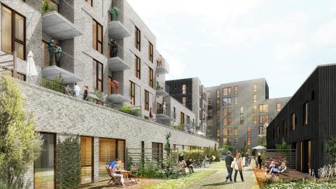 NREP og Arkitektgruppen byudvikler for 2 milliarder ved Amager Strand