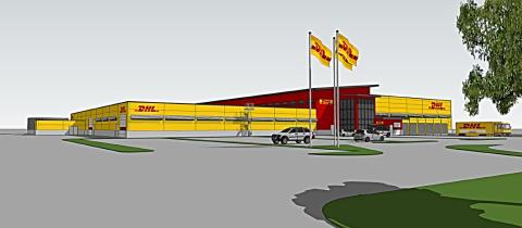 Swedavia bygger 7 500 kvm stor terminalanläggning med DHL som hyresgäst