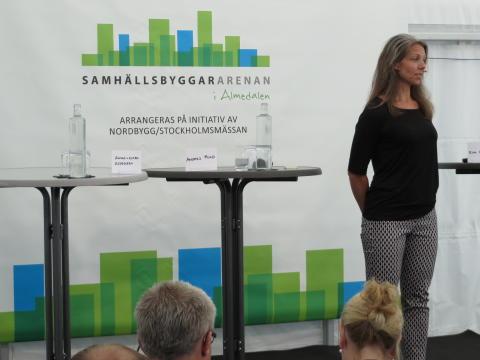 Anna-Klara Esk Aspegren, Svensk Byggtjänst