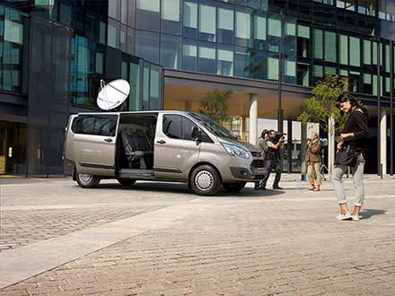 Nye Ford Tourneo Custom
