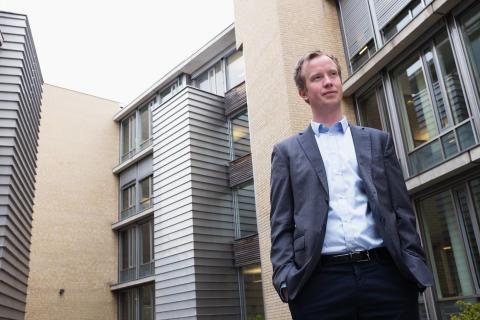Morten Trasti, analytiker i Lindorff - foto Lene Kallum