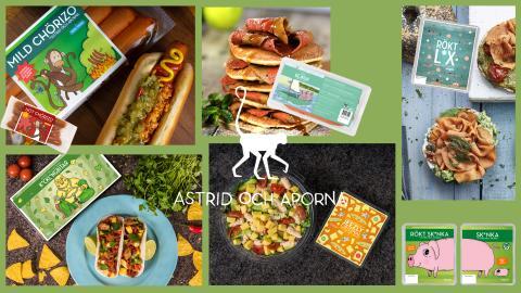 Kale United med varumärket Astrid Och Aporna satsar tillsammans med Movement på att nu nå ut till fler med växtbaserade godsaker!