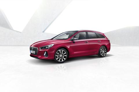Hyundais nye i30 stasjonsvogn har alt man forventer av en moderne bil