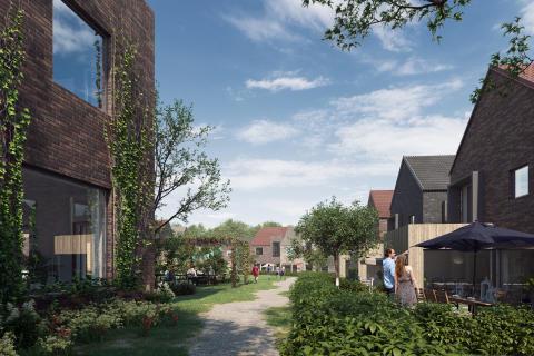 Liljewall och Peab vinner markanvisningstävling för Almelund