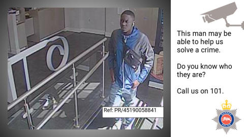 CCTV released after elderly woman falls victim to bank card fraud in Epsom