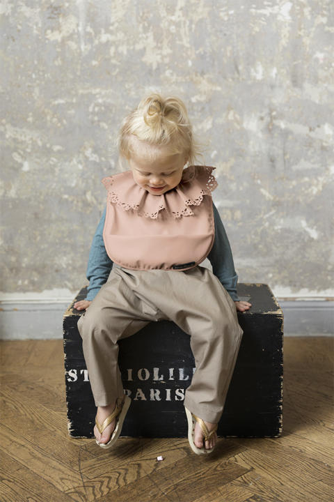 Elodie Details SS19 - Baby Bib Faded Rose
