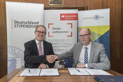 Santander fördert die Freie Universität Berlin