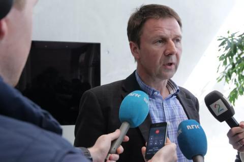 Pressekonferanse om jordbruksoppgjøret