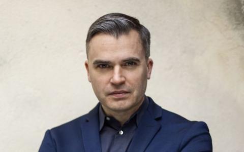 Jerker Virdborg på författarkväll i Svalbo