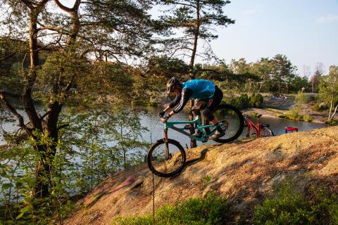 Ta cykeln till naturen med Leo Ranta