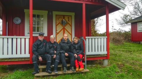 Vagtskifte på Søby Camping