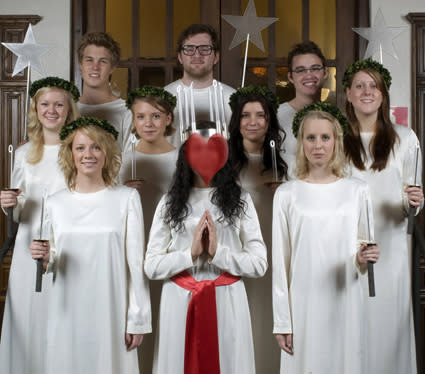 Pressträff. Vem blir Malmös Lucia 2008?