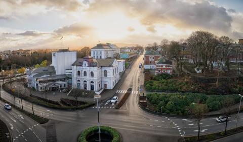 VOLUMSTUDIER FOR ET FELLES LØFT FOR ROGALAND TEATER OG MUSEUM STAVANGER LANSERT