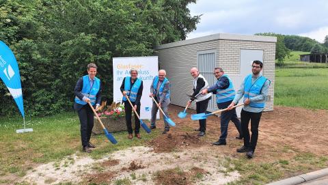 Glasfaser für Schaafheim: ENTEGA und Deutsche Glasfaser verkünden Baustart des Netzes