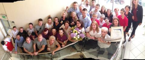 Team members Scandic Poland