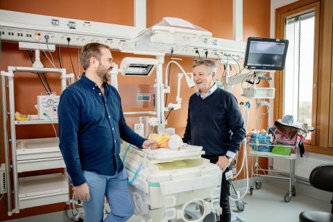 De hjälper för tidigt födda barn att andas