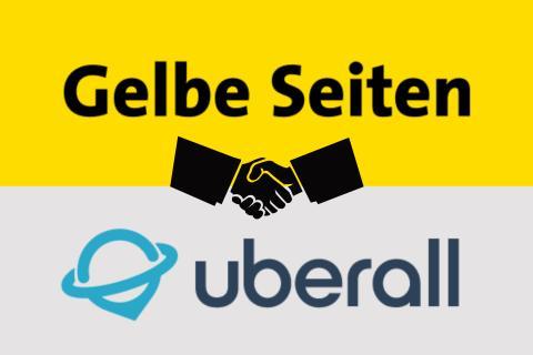 Uberall und Gelbe Seiten schließen Partnerschaft