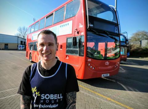 Mark Temple - Sobell House Marathon