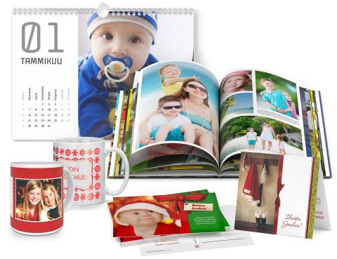 Joulukorttien suosio säilyy: 1,75 miljoonaa ifolorin kuvakorttia