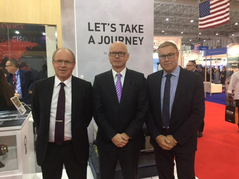 CTT Systems & Satair Group signing at Dubai Airshow (700 pixels)