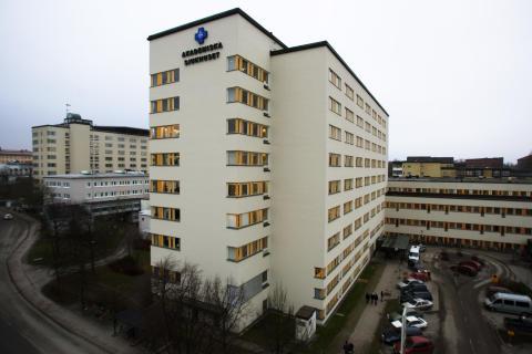 Huvudentrén, ingång 70, Akademiska sjukhuset