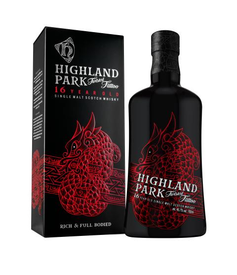 Highland Parks nya whisky TWISTED TATTOO går under huden