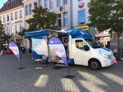 Beratungsmobil der Unabhängigen Patientenberatung kommt am 29. August nach Halberstadt.
