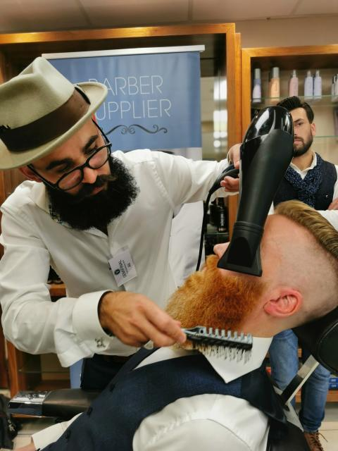 Ali Alhussen, Viking Barbershop. Göteborg